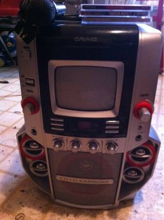 Craig cdg karaoke machine for Htc or iphone - $1 (Br)