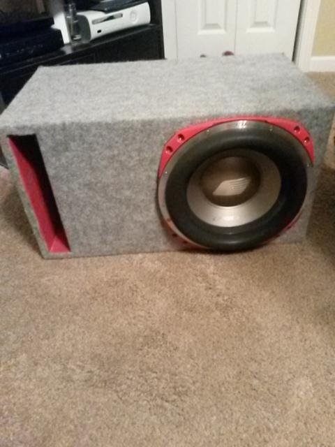 $300, orion hcca 12.2 single sub in 2 cubic box