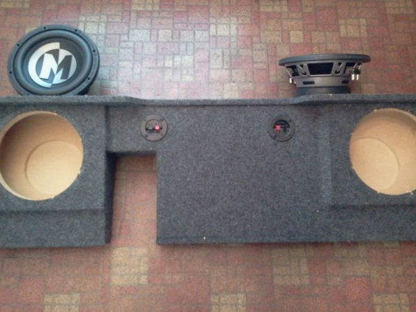 custom speaker box f150 - $60 (hammond )