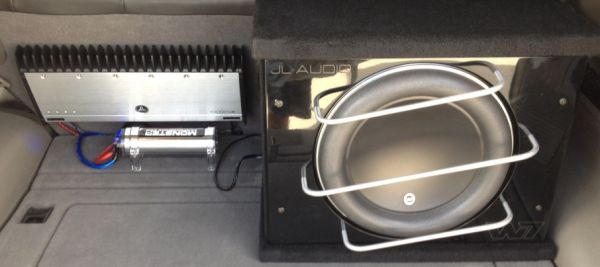 JL w7 13.5 PowerWedge JL 10001 1000.1 AMP Monster Capacitor Subwoofer - $1500 (New Orleans)