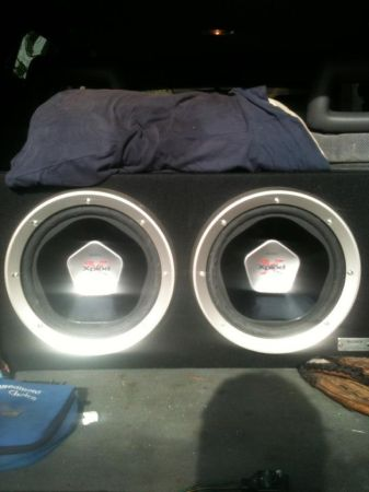 Two 12 inch Sony Subs w  - $165 (Baton Rouge)