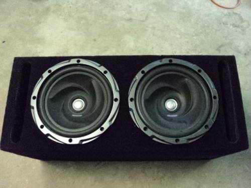2 KENWOOD 12 INCH SPEAKERS IN BOX WITH 1700 WATT KENWOOD AMP - $300 (BATON ROUGE CENTRAL)