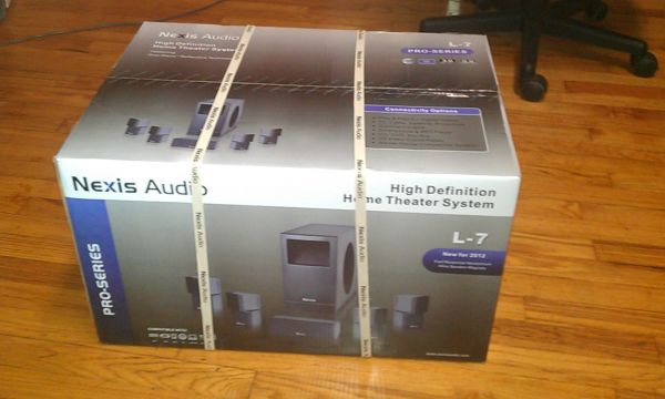 Nexis Audio L-7 Home Theater System - $300 (Baton Rouge)