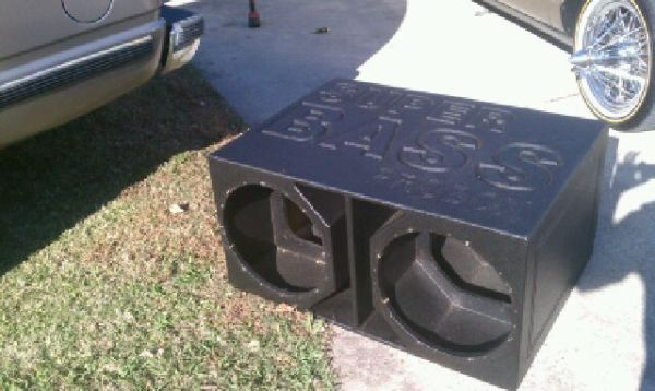 Super Bass ProBox for 2 15 inch Subs - $100 (baton rouge)