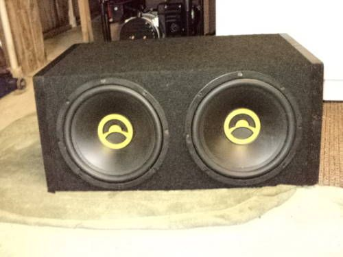 2 NEW (4 OHM) LIQUID COOLED 12 INCH BAZOOKA SPEAKERS IN PRO BOX ROCKS - $150 (BATON ROUGE CENTRAL)