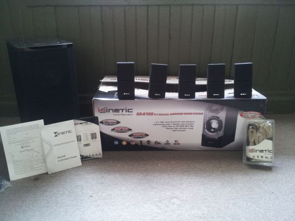 Kinetic Loud Speaker KA - 6100 Surround Sound$150 or best offer (Zachary, Louisiana)