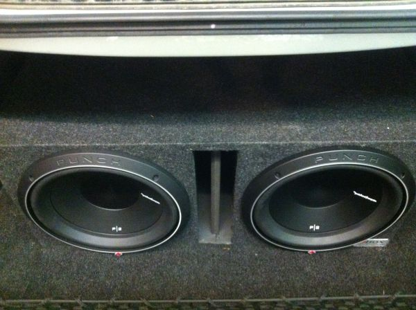 NEW Rockford Fosgate P2 12s with box - $500 (Walker)
