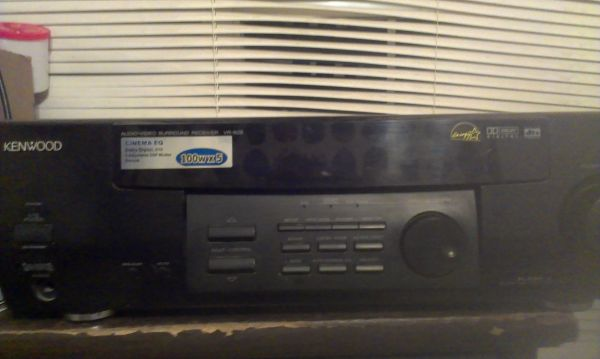Kenwood surround sound receiver - $55 (Denham)