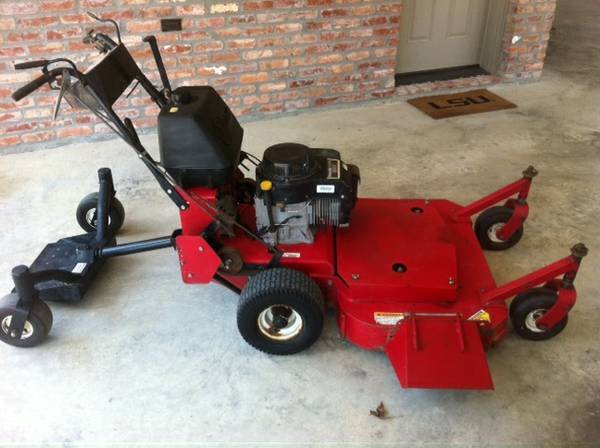 36 Exmark Commerical walk behind mower w sulky - $1000 (Baton Rouge, la)
