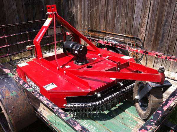 Howse 4ft brush hog - $1000 (Prairieville)