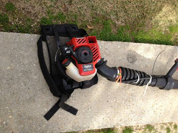 Troybuilt backpack blower new 10min run time - x0024150 (Gonzales)