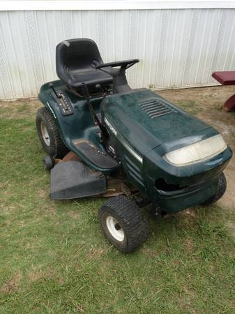 Craftsman riding mower for parts - $125 (Baton Rouge)