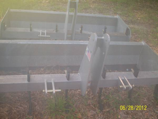 GALVANIZED BUSH HOG AND BOX BLADES (HAMMOND,LA)