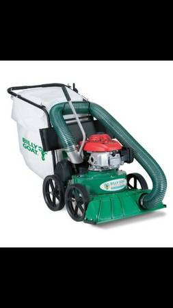 Billy Goat Lawn Leaf Debris Vacuum - $975 (Baton rouge)