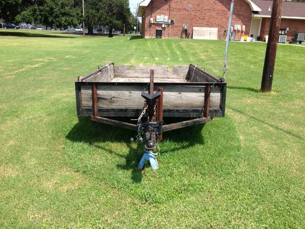 5x9 Homemade utility trailer, $300 obo - $300 (Lafitte)