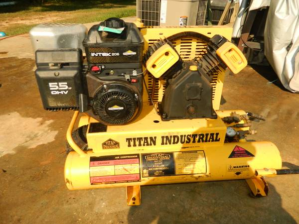 Titan Industrial Gas Air Compressor - $450 (Pride)