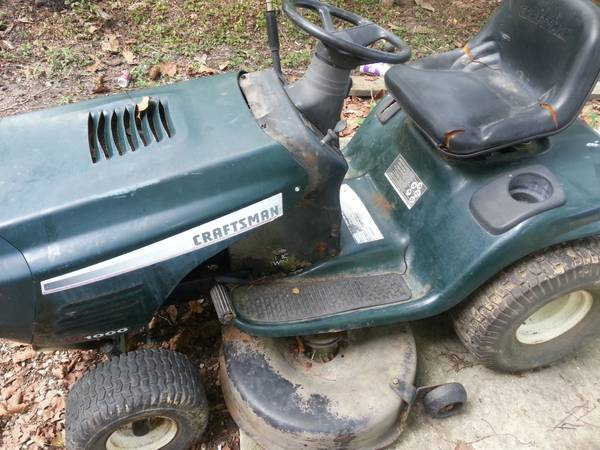 craftsman riding mower for parts (denham springs)