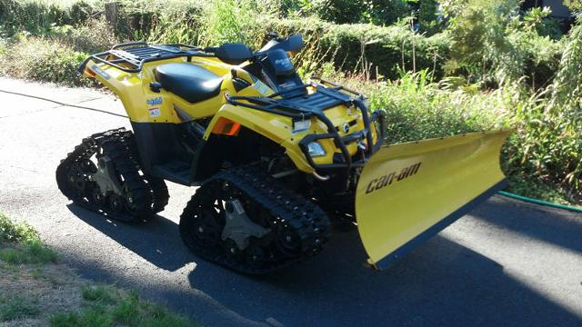 1 800  2007 Can-Am Bombardier OUTLANDER 800 XT