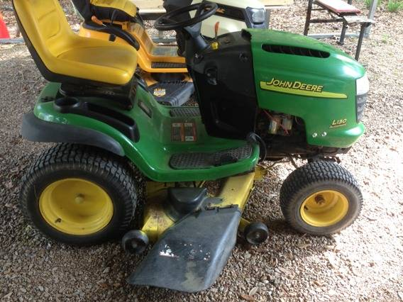 John Deere 48 23 hp Kohler, great shape - $1200 (Hammond)