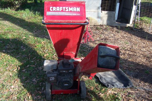 Wood Chipper - $450 (Loranger)