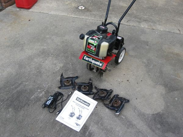 EARTHQUAKE MC43E MINI CULTIVATOR - $150 (PRAIRIEVILLE)