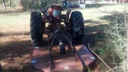 Massey Ferguson W bush hog - $2800 (Kentwood, LA)