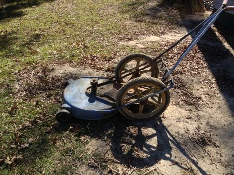 Yazoo self propelled lawn mower - $25 (Denham springs)