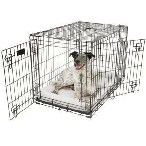 XL DOUBLE DOOR DOG CRATE - $125 (Baton Rouge)