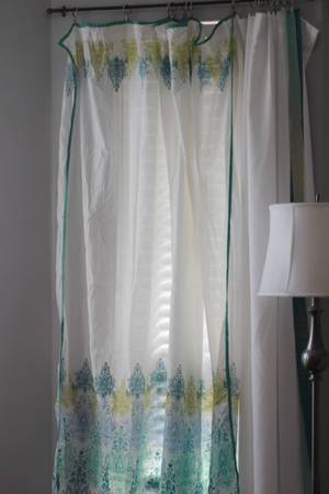 Cost Plus World Market Shower Curtain - $10 (Bluebonnet)