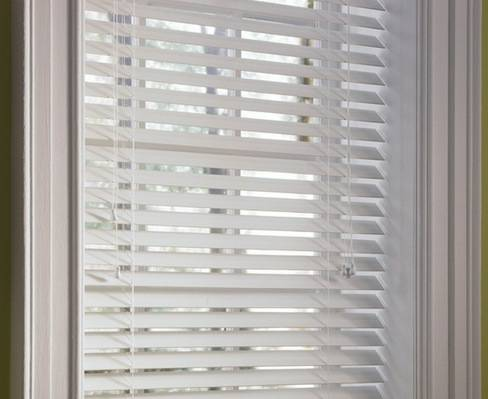 2 Plantation Mini Blinds - white (Baton Rouge)