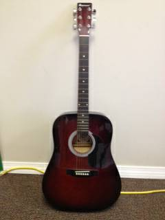 Acoustic Standard Spencer Guitar - $150 (Franklinton)