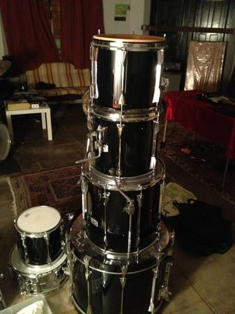 tama GRANSTAR II - 6 pc drumset REDUCED - $350 (uptown) - $350 (uptown new orleans)