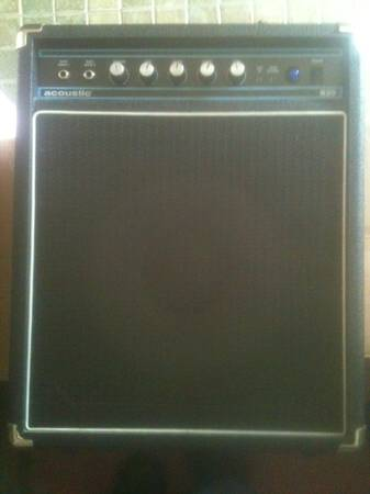 Bass Amp Acoustic B20 - $75 (BR)