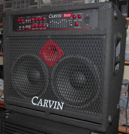 Carvin r600 bass - $275 (Capital Heights)