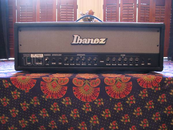 Ibanez Guitar Amplifier Head TB100H Tone Blaster - $75 (Garden District)