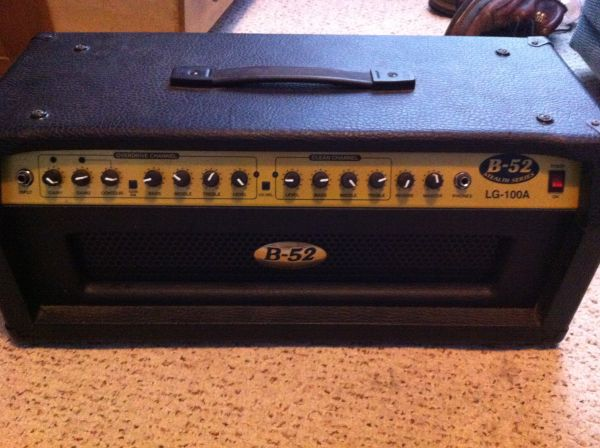 B-52 Stealth Series Amp Head - $150 (Gonzales)