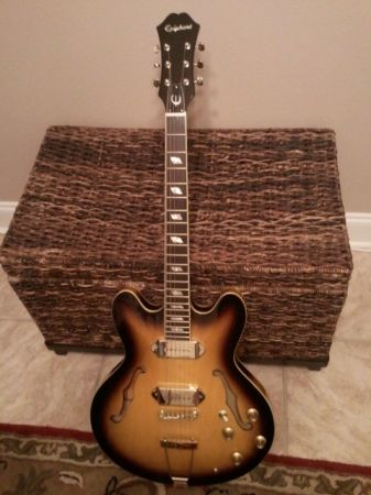 Epiphone Casino Vintage Sunburst - New - $500