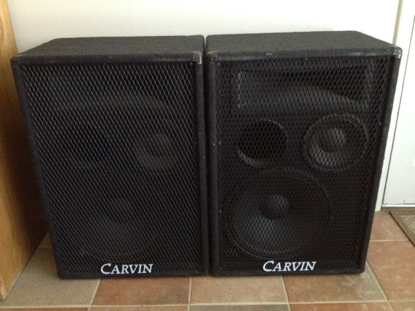 Carvin 1584 Speakers - $300 (Baton Rouge)