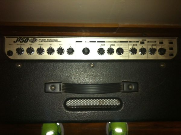 Johnson JT50 Amp with pedal - $300 (Central)