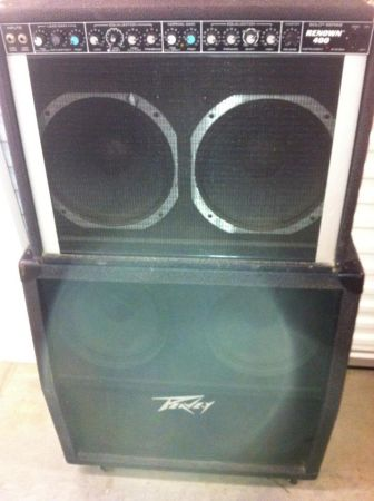 Peavey Renown 400 Guitar with Cabinet - $450 (Baton Rouge)