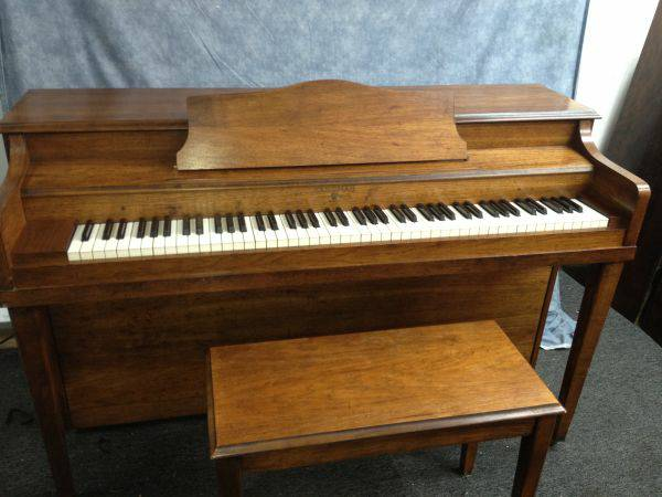 Hardman and Peck Piano with Bench - $475 (Garden District)