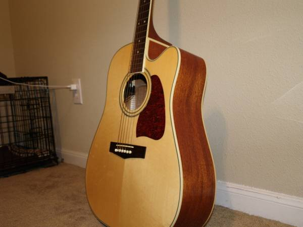 Acoustic-electric Ibanez AW100CE - $350 (Bluebonnet, Baton Rouge)