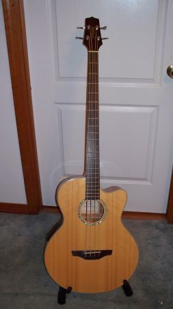 Takamine Natural Acoustic Electric Bass (EG512CG) - $400 (Hammond)
