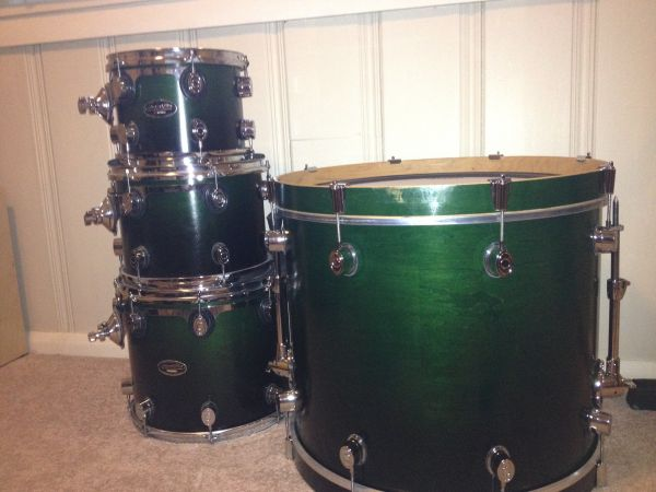 Drums and extras - $1 (Baton Rouge)