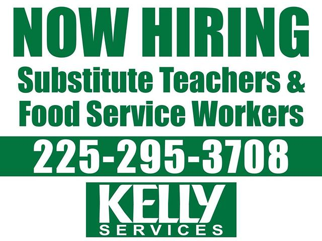 Now Hiring Substitute Teachers  Teacher Assistants and PARA Professionals