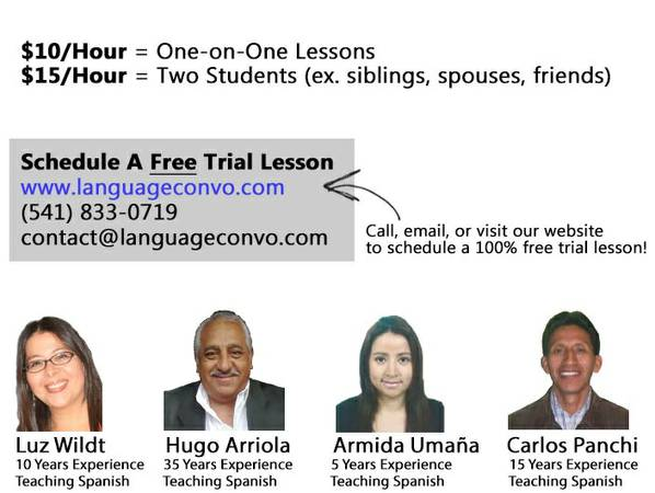 7 5-7 15  ---- Private Spanish Lessons -  10 Hour - Free Trial Lesson ----  Baton Rouge