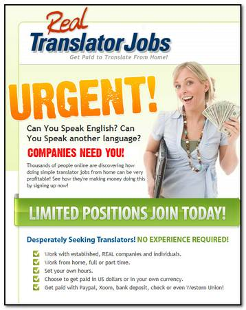 Looking for Bi-Lingual Speakers  Louisiana