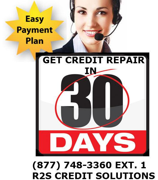 Real 30 Day Credit Repair
