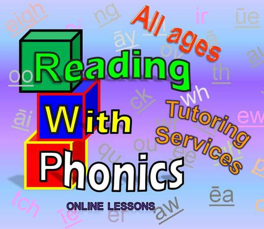 Online Reading tutor available  online
