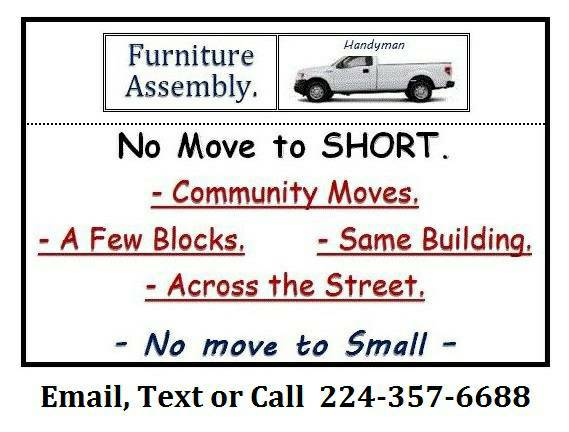 Moving Help $15 HR Short Moves Assemble Furniture - More (Moving Help ALL Houston AREA)